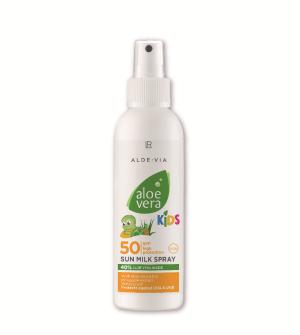 LR Aloe Vera Kids Sun LSF 50 Opaľovacie mlieko v spreji - 150 ml