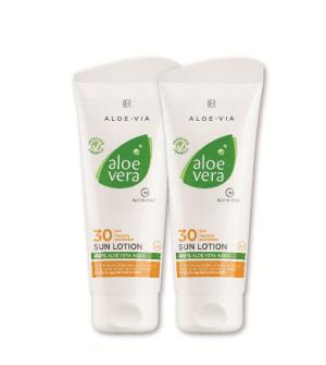 LR Aloe Vera Sun Opaľovací krém LSF 30 Séria 2 ks - 2x 100 ml