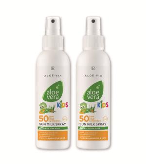 LR Aloe Vera Kids Sun Opaľovacie mlieko LSF 50 Séria 2 ks - 2x 150 ml