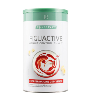 LR LIFETAKT Figu Active Koktail Jahoda-Banán 450 g