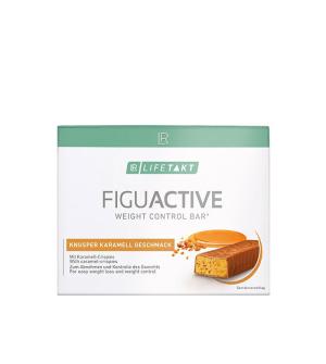 LR LIFETAKT Figu Active Tyčinka Chrumkavý karamel 6x 60 g