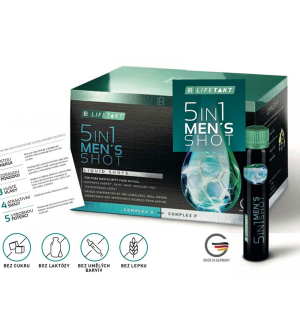 LR LIFETAKT 5in1 Men's Shot 30 x 25 ml Série 3 ks